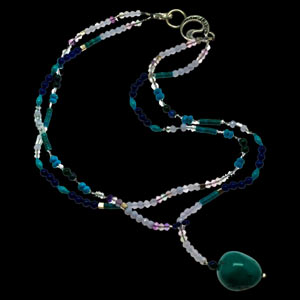 Energy Muse 5th chakra necklace
