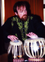 playing tabla