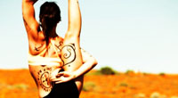 tattoo yoga girl