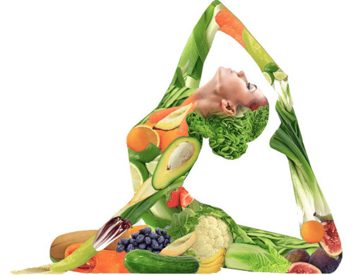 yoga and healthy diet