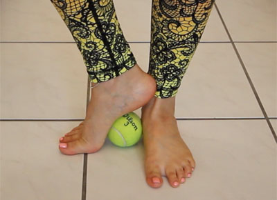 yoga for feet