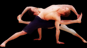 men doing yoga
